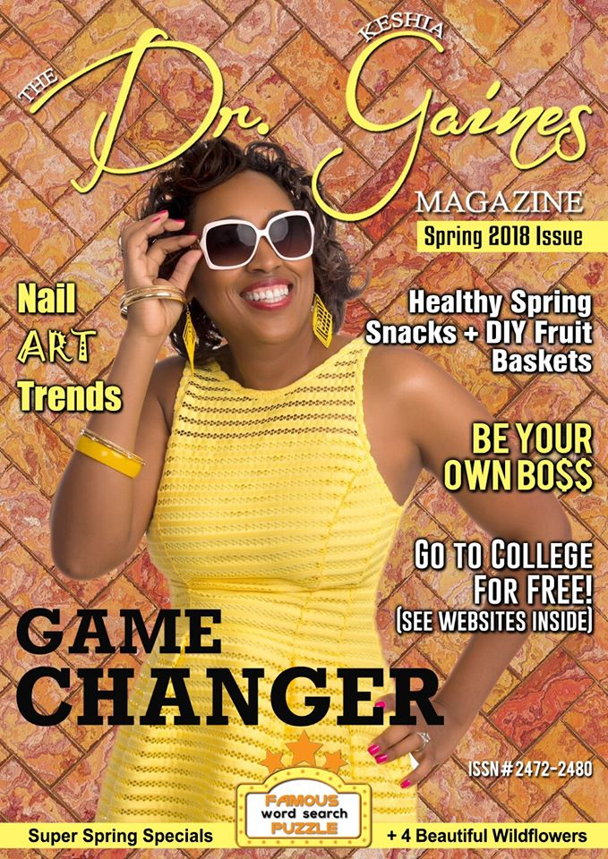 BREAKING CELB NEWS- DR. KESHIA GAINES ROCKS HOT OIL MANICURE AND GAME-CHANGING NAIL ART DESIGNS