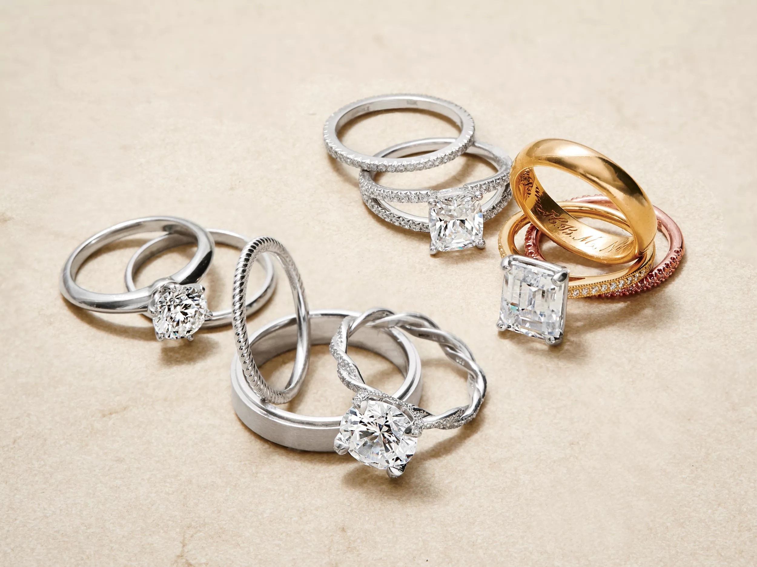 10 ways to pick silver engagement rings