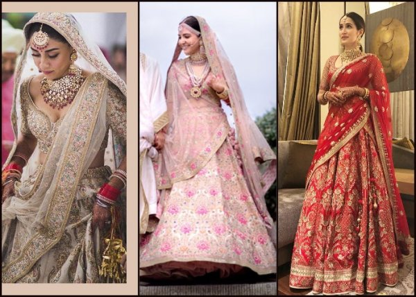 Make Way For These Stylish Bridal Lehengas In 2021
